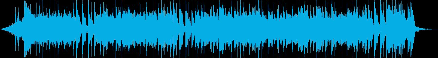 高揚感あふれるストリングスポップス30秒の再生済みの波形