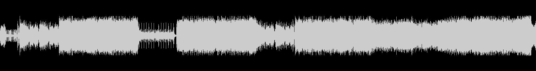 エレキマトリックス風テクノループ曲の未再生の波形
