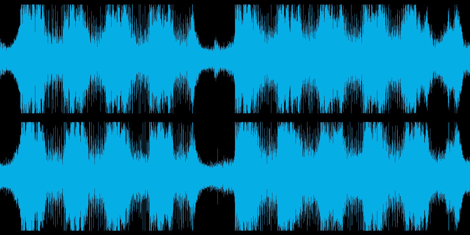 深まる謎・緊張が走るピリピリした戰慄の曲の再生済みの波形