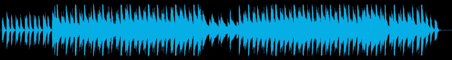 獅子舞をイメージしたガムラン音楽の再生済みの波形