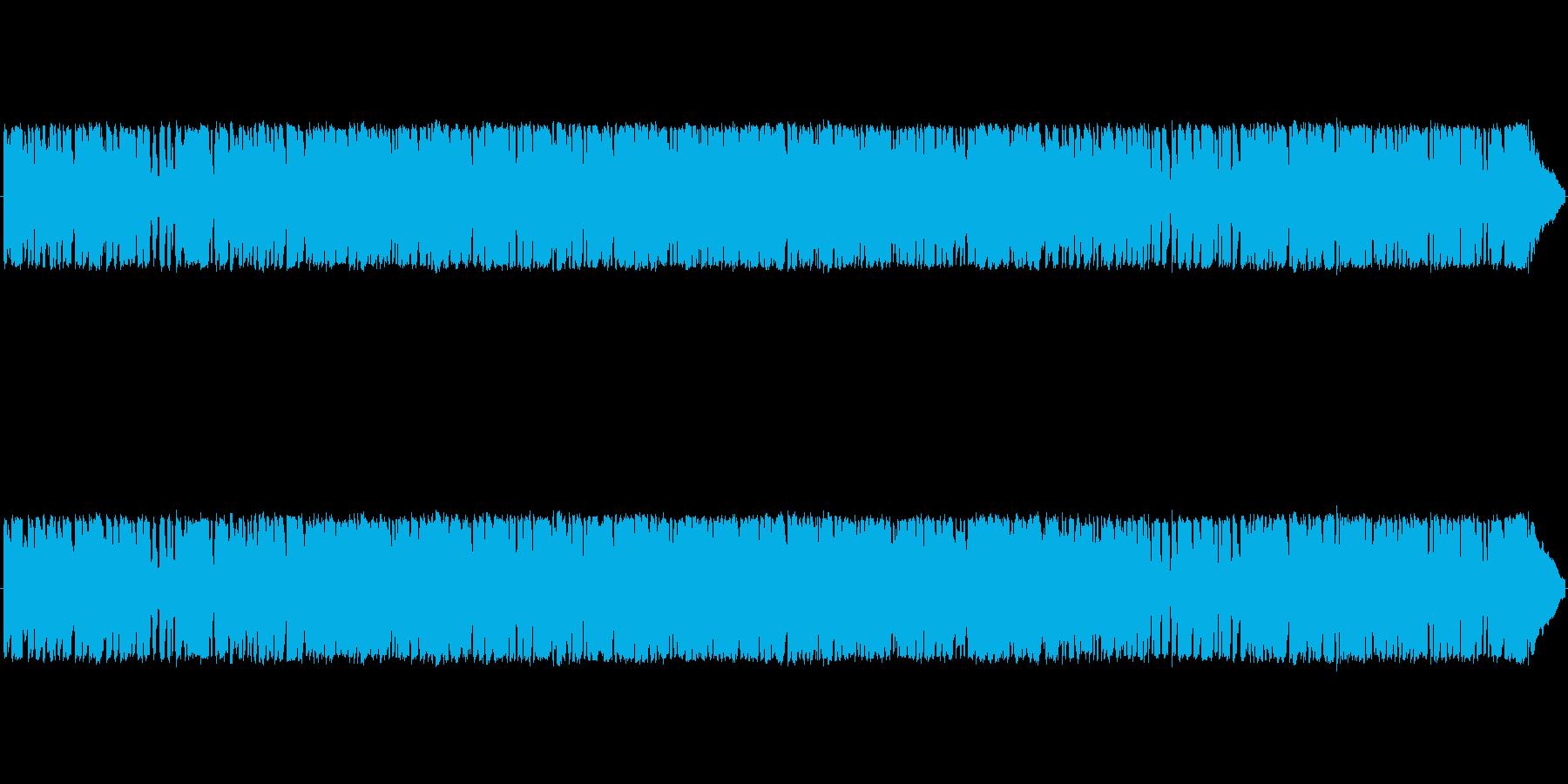 どこか、レトロ感のある、JAZZのBGMの再生済みの波形