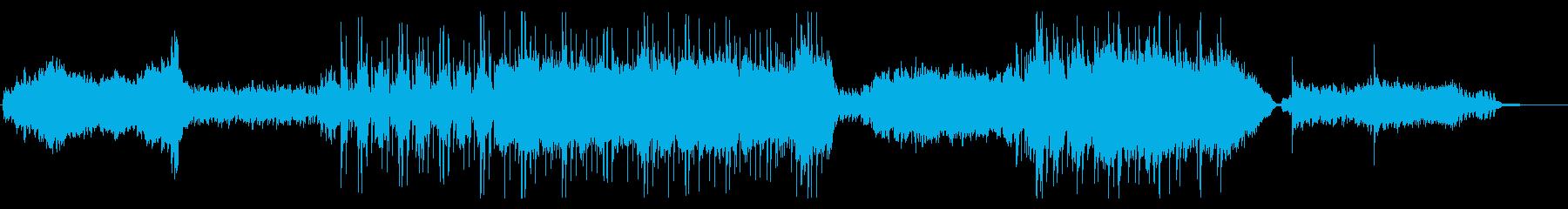 【オーケストラ】切ない気持ちから前向きにの再生済みの波形