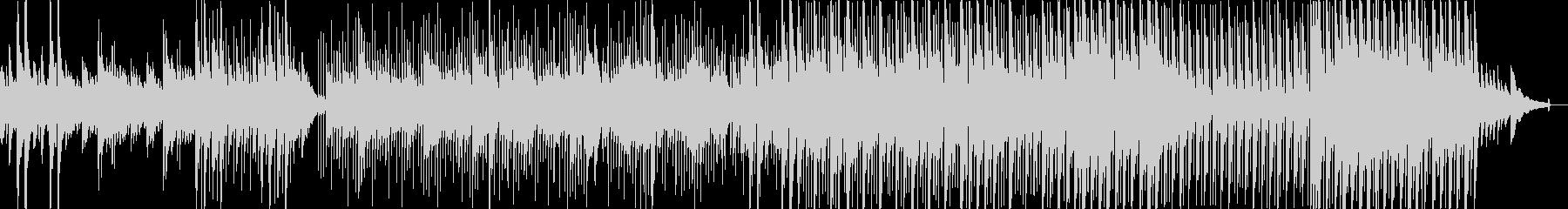 ほのぼのした牧歌的フォークソングの未再生の波形