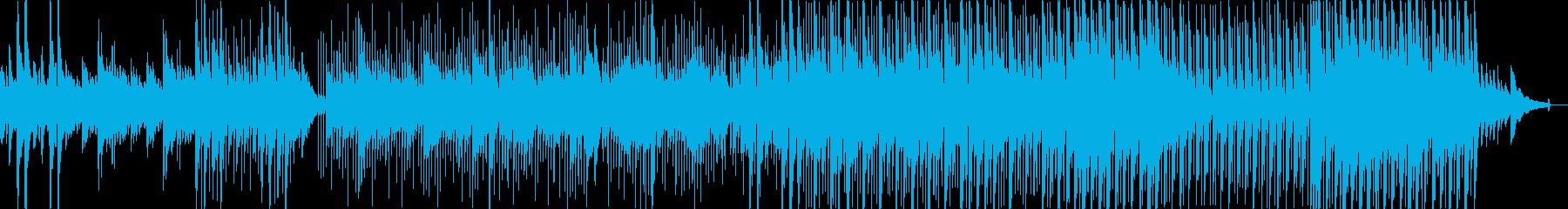 ほのぼのした牧歌的フォークソングの再生済みの波形