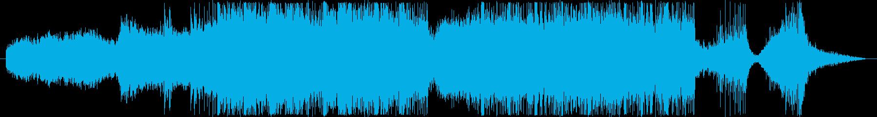 戦国和風 民族ショートトレーラー声無し版の再生済みの波形