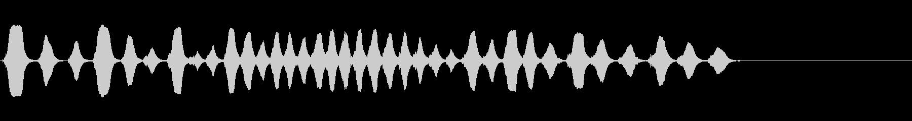 フルート:ファニーホースギャロップ...の未再生の波形