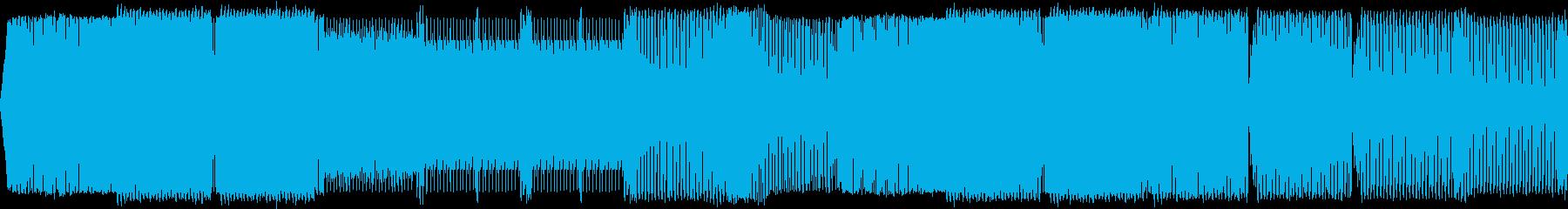 EDM スピード感 爽快 スポーツ 動画の再生済みの波形