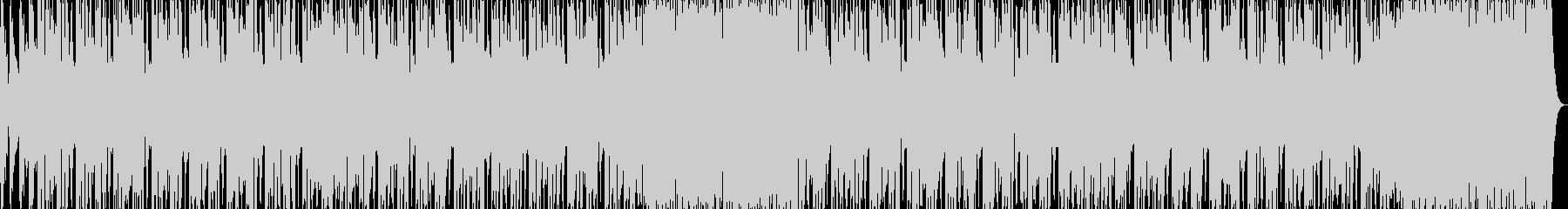不思議風エレクトロの未再生の波形
