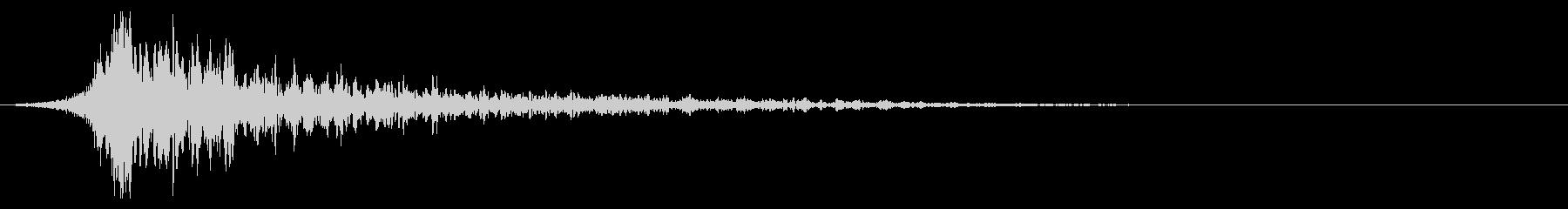 シュードーン-26-2(インパクト音)の未再生の波形
