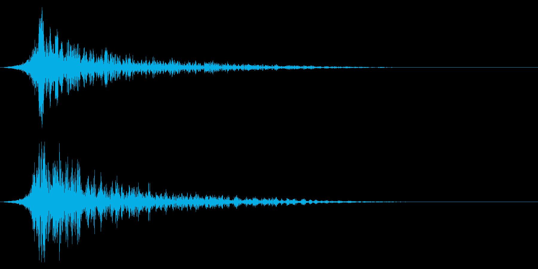 シュードーン-26-2(インパクト音)の再生済みの波形