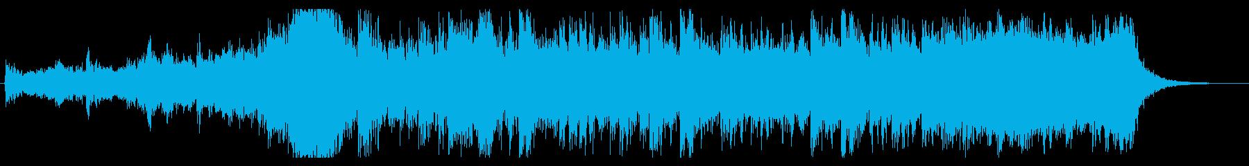 大自然壮大オケ 30秒 pno syn無の再生済みの波形