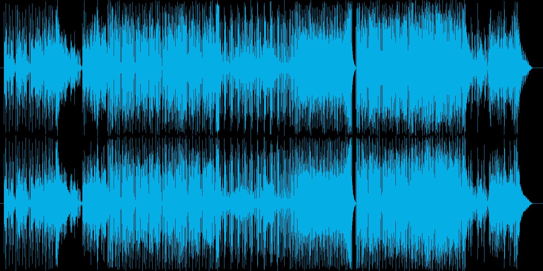 猫テクノです。ネコ+テクノポップ=ネコ…の再生済みの波形
