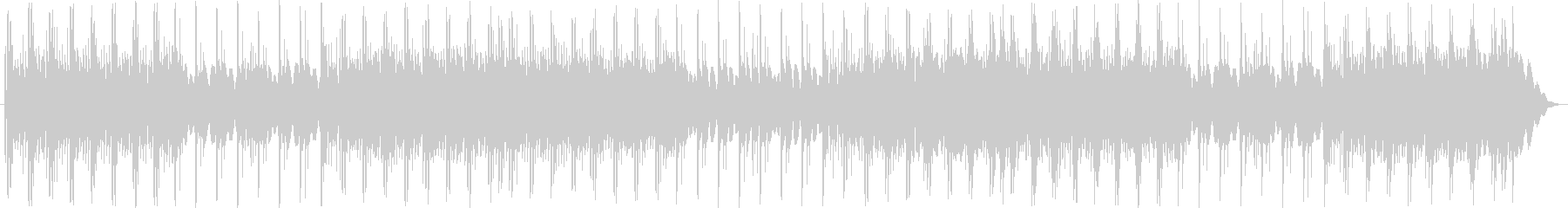 エレクトリックピアノパーツをパンし...の未再生の波形