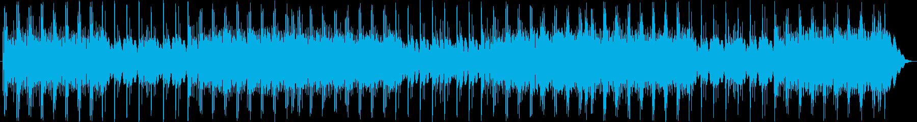 エレクトリックピアノパーツをパンし...の再生済みの波形