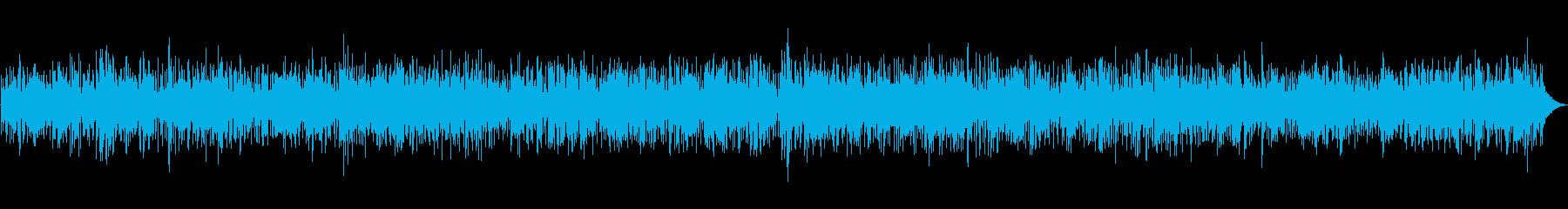 お洒落なカフェで流れるジャズピアノの再生済みの波形