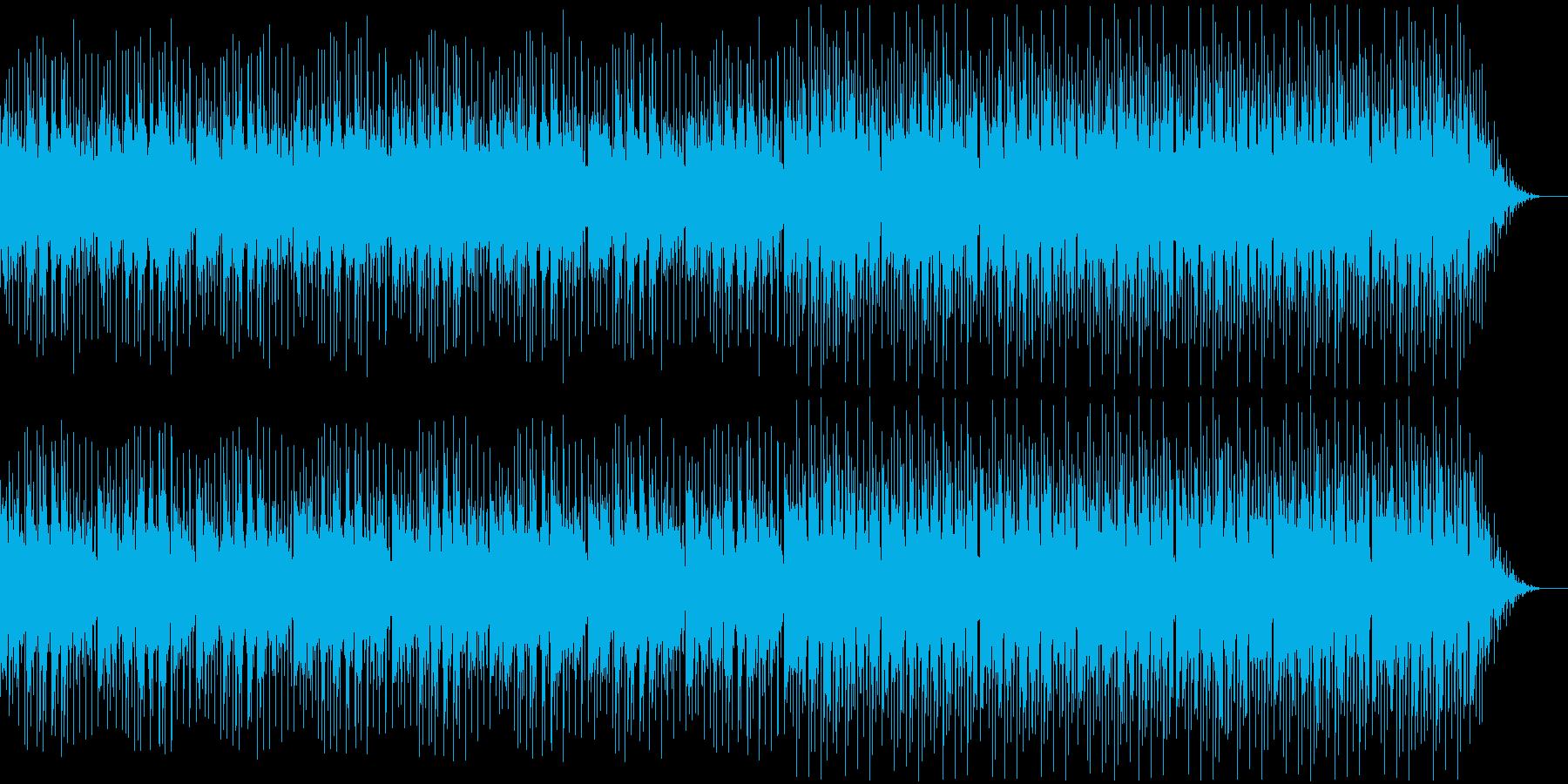 ホラー風BGM -徘徊-の再生済みの波形