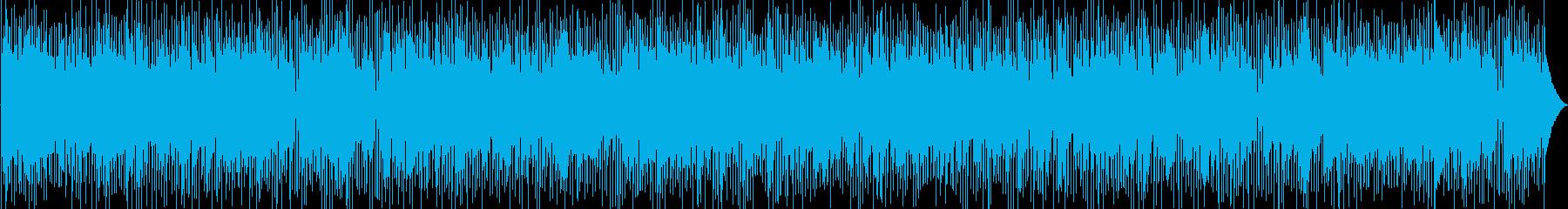 おしゃれで都会的なエレピのスムースジャズの再生済みの波形
