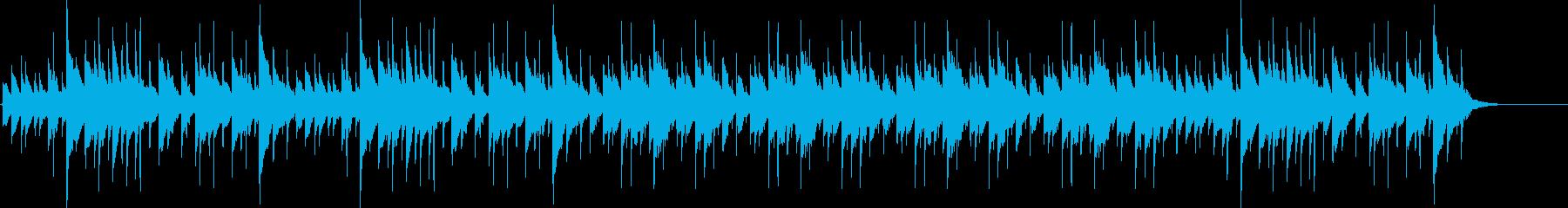 クールでスタイリッシュなハンドパンBGMの再生済みの波形