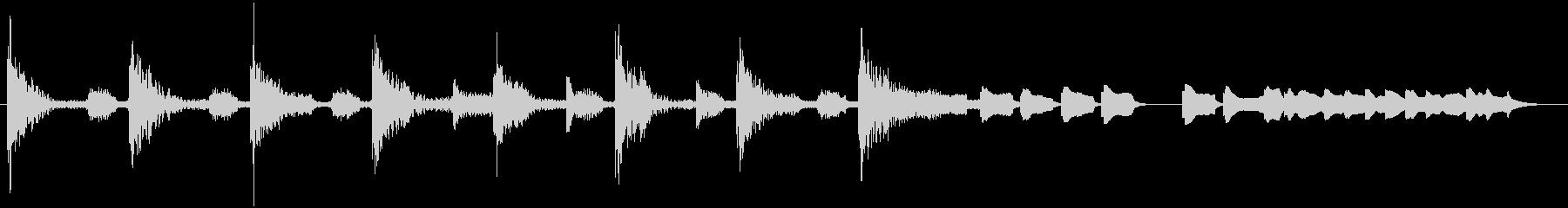 ブンチャブンチャ~テレレテッテレ 1 暗の未再生の波形