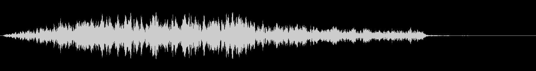シューッという音EC07_88_4の未再生の波形