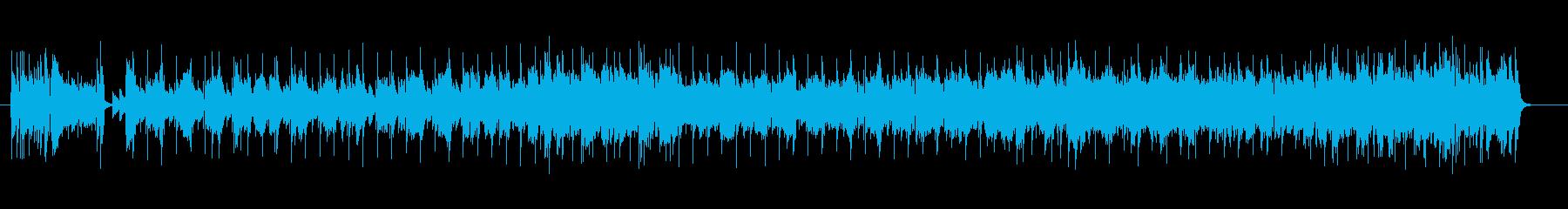 ピアノが美しいサンバ風フュージョンの再生済みの波形