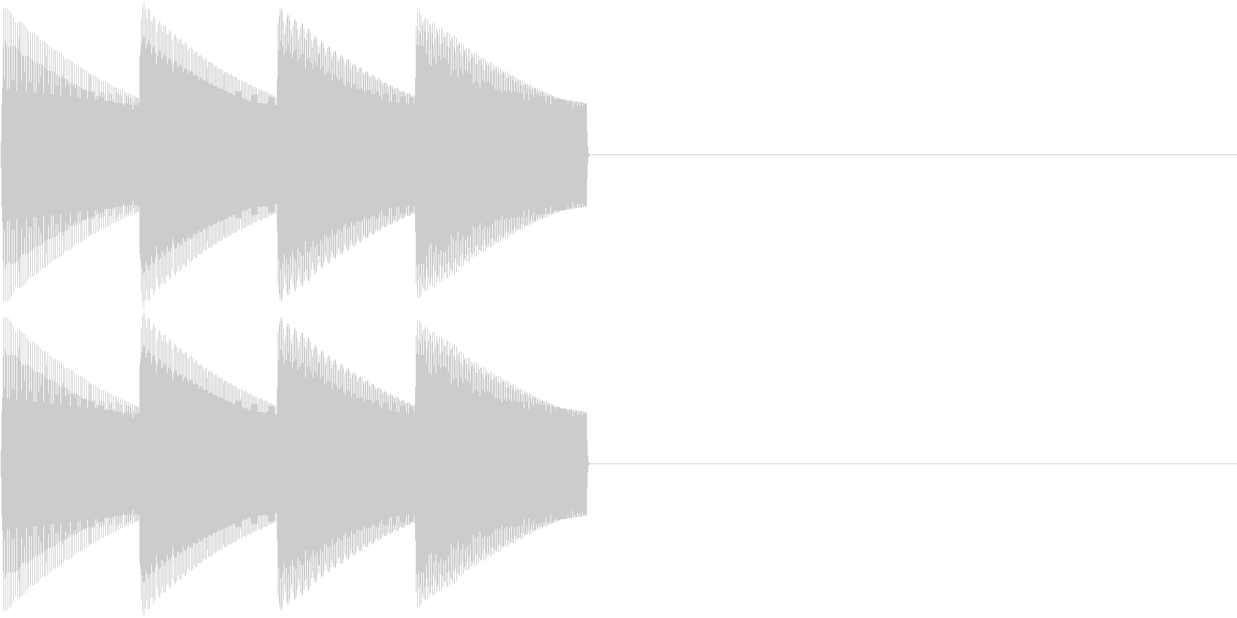 「ピコピコ」ヒント・補足表示等にの未再生の波形