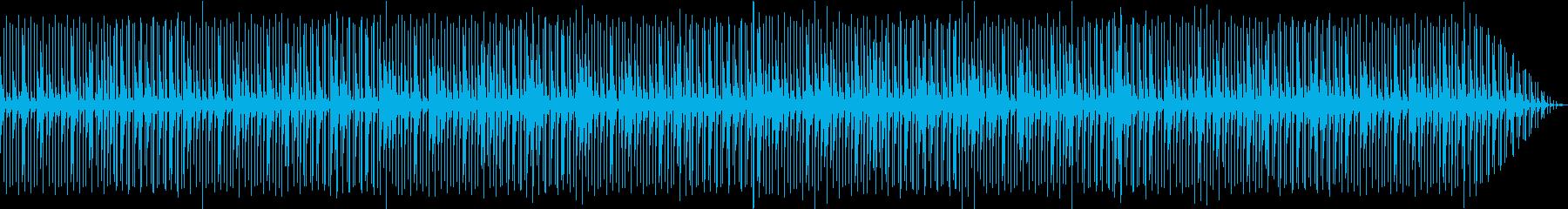 くつろぎchill beat の再生済みの波形