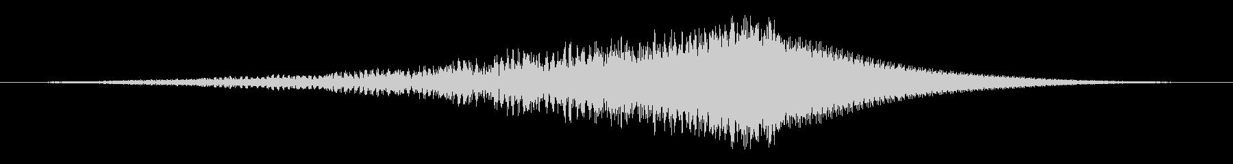 かみそりバズトーンスラッシュ2の未再生の波形