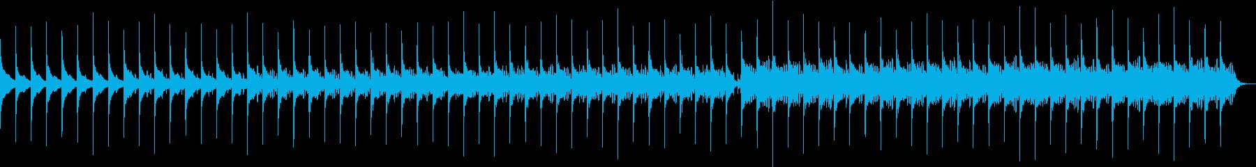 リズムが時を刻む静かなエレクトロニカの再生済みの波形