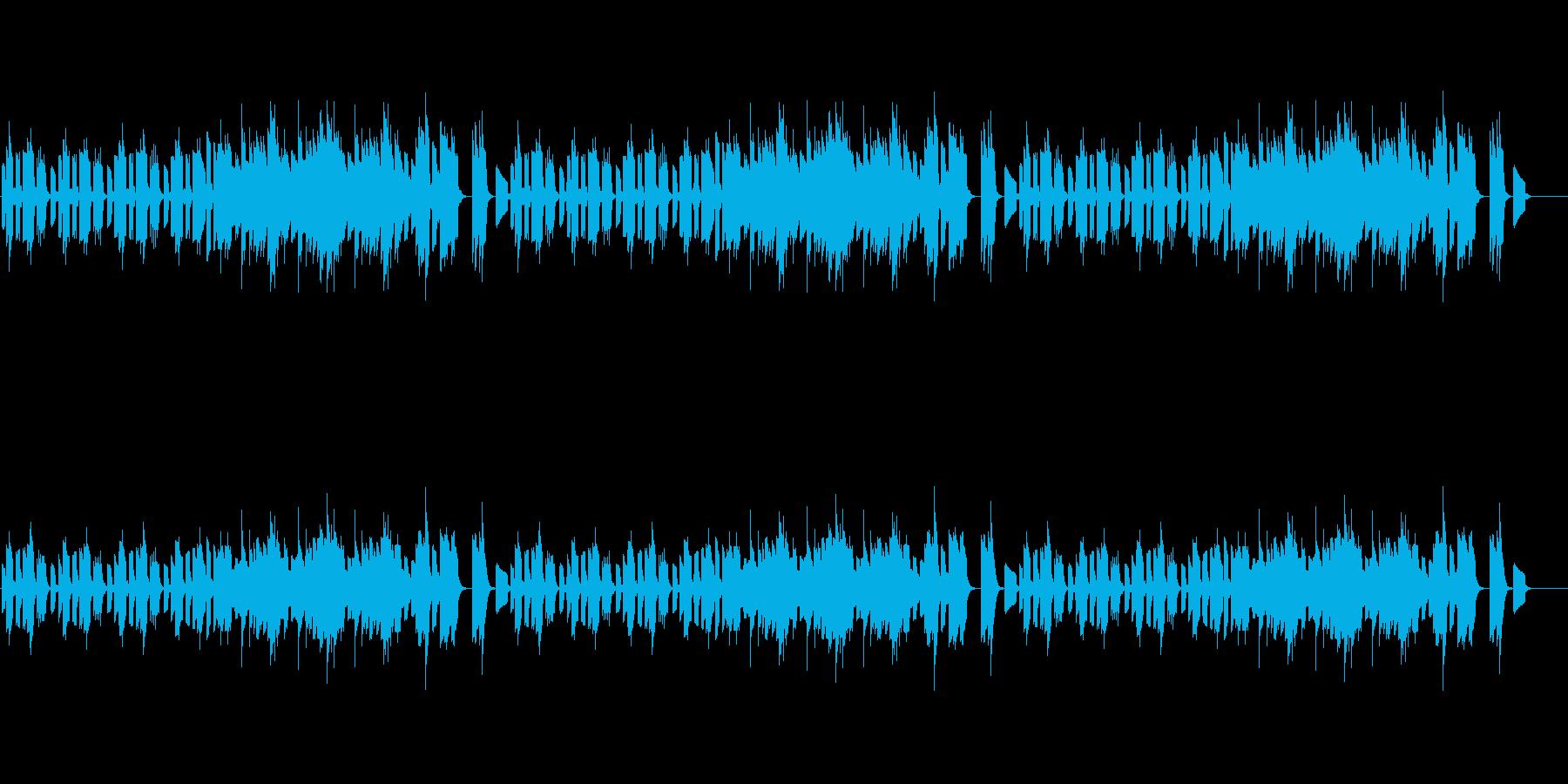 『?』何か気になったBGM/エレピソロの再生済みの波形