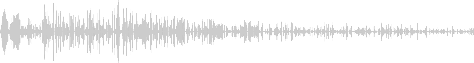 DTM Snare 8 オリジナル音源の未再生の波形
