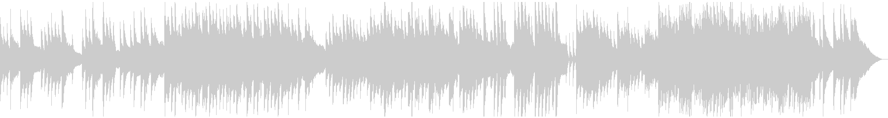 切ないピアノのインストの未再生の波形