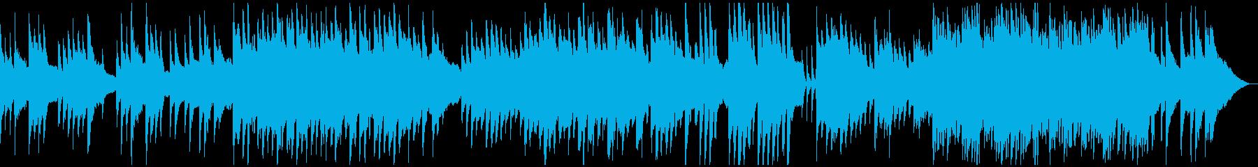 切ないピアノのインストの再生済みの波形