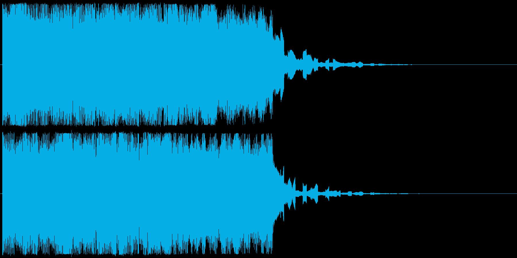 ファンファーレ ゲームクリア 目標達成の再生済みの波形