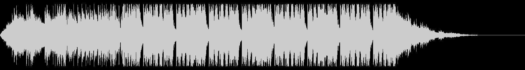 明るい系フューチャーベース(セリフあり)の未再生の波形