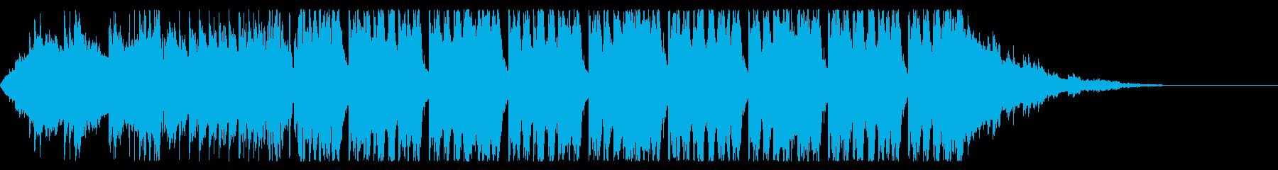 明るい系フューチャーベース(セリフあり)の再生済みの波形