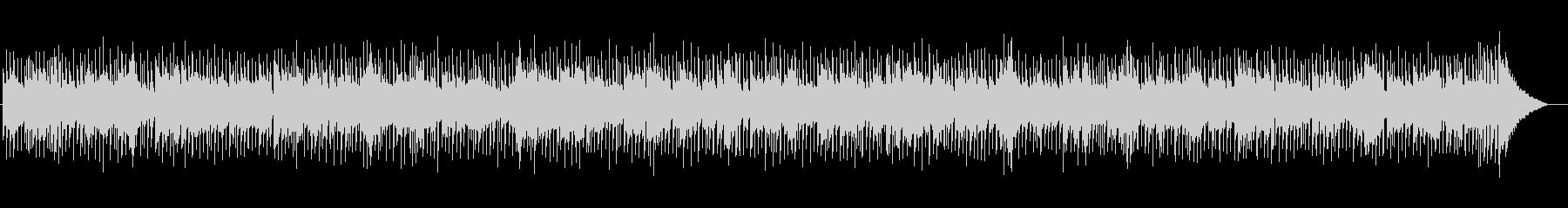 疾走感あふれるポップの未再生の波形