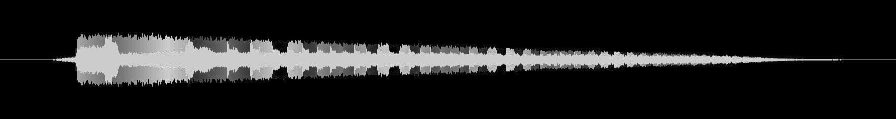 ホーン Hoot Sad 03の未再生の波形