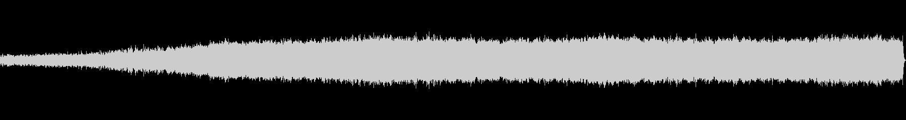 ホラー風BGM -始まり- ループ素材の未再生の波形
