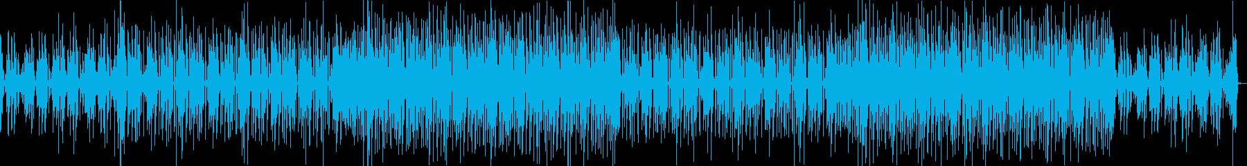 Twice風なKpopサウンドの再生済みの波形