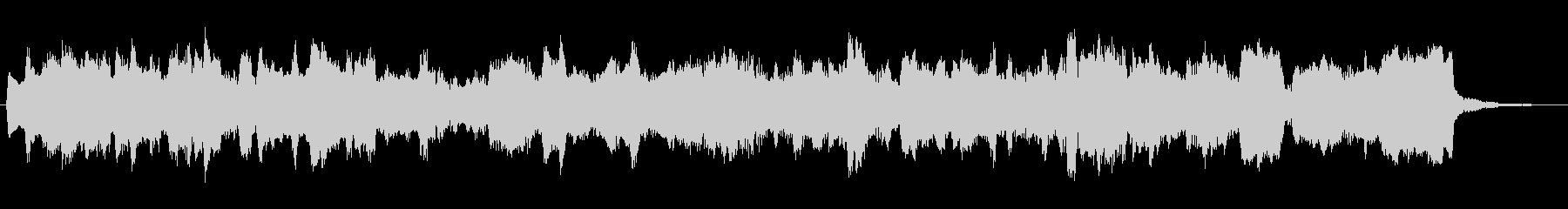 オルガンによるオランダ風ワルツの未再生の波形