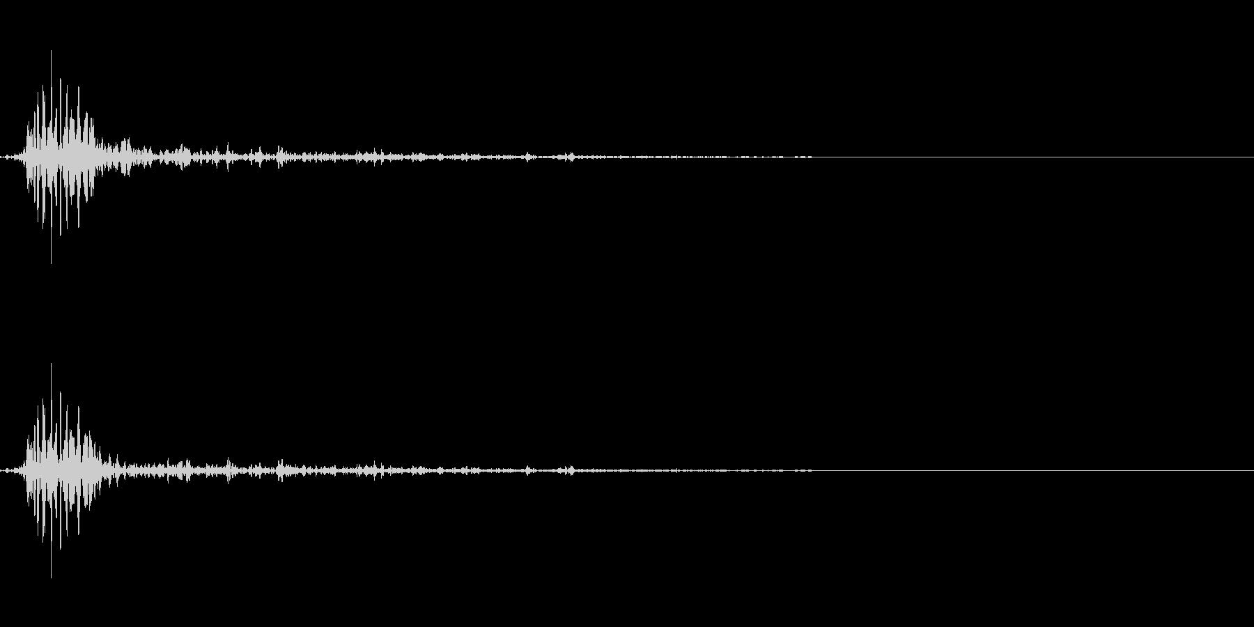 アクションの衣擦れ-03の未再生の波形