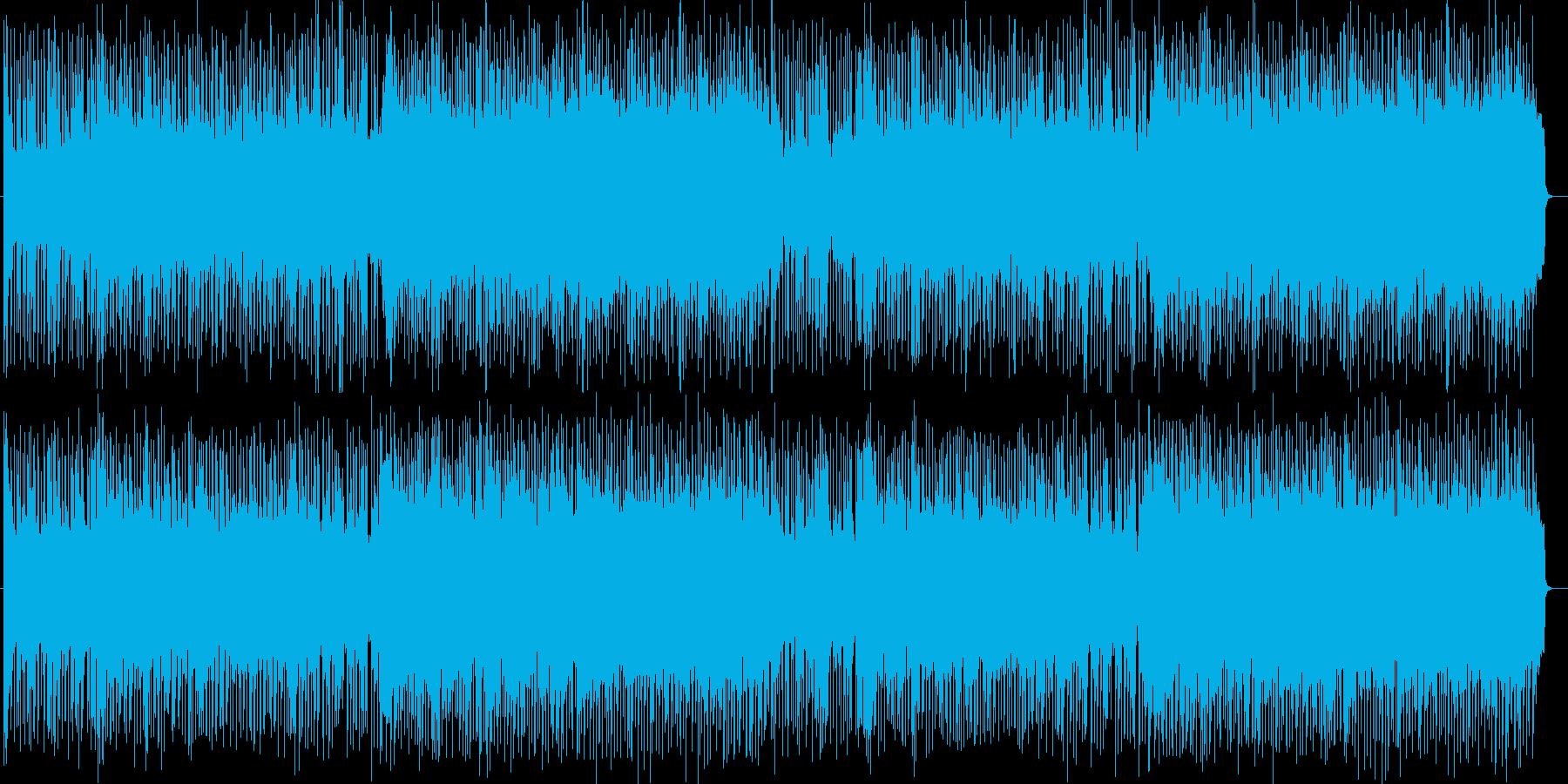 近未来的疾走系テクノロックの再生済みの波形