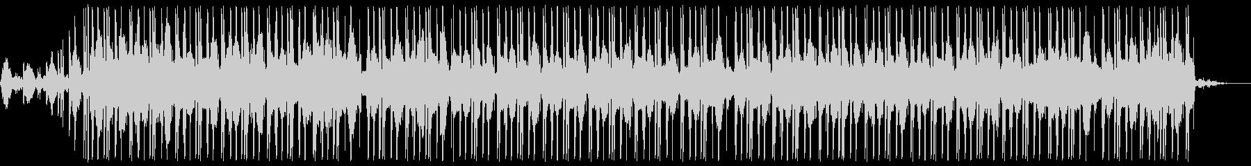 水とピアノの旋律が生み出すビートの未再生の波形
