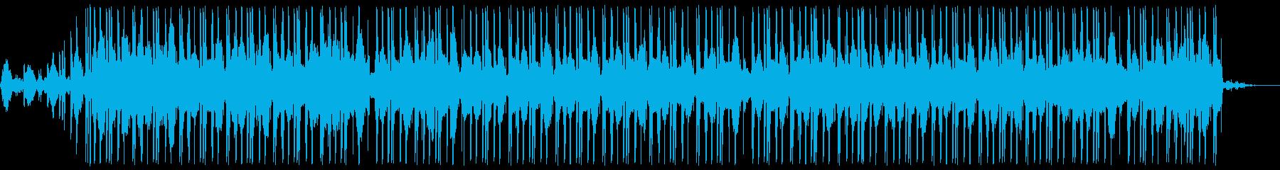 水とピアノの旋律が生み出すビートの再生済みの波形
