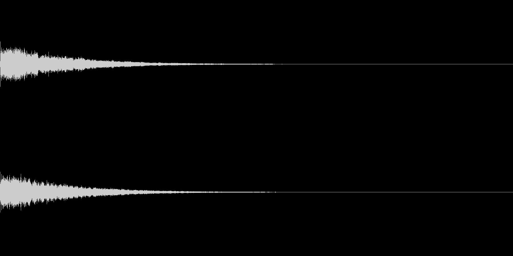 かわいい系 キラキラ系 光る音02の未再生の波形