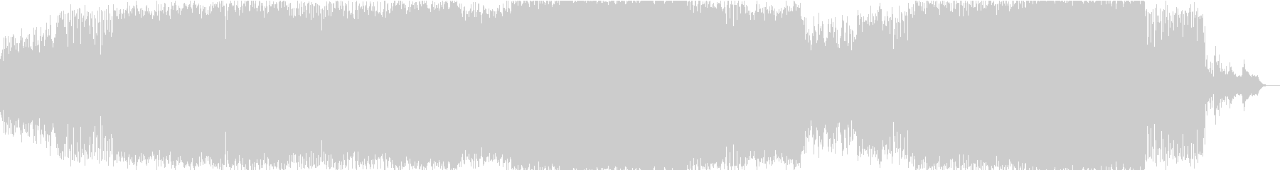 テクノの未再生の波形