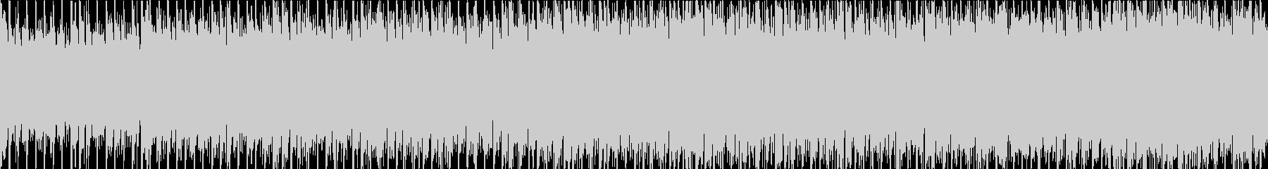 ダイナミックギターポップロック(ループ)の未再生の波形