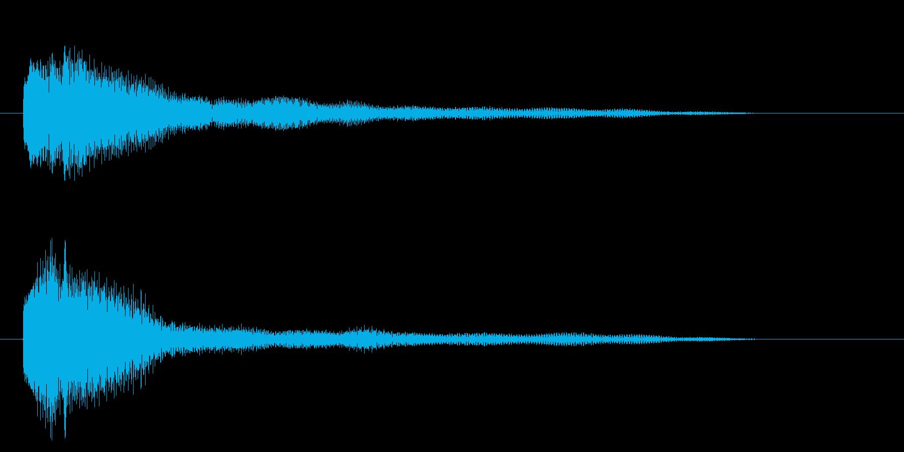 ★昭和のドラマ効果音★不穏な空気★ピアノの再生済みの波形