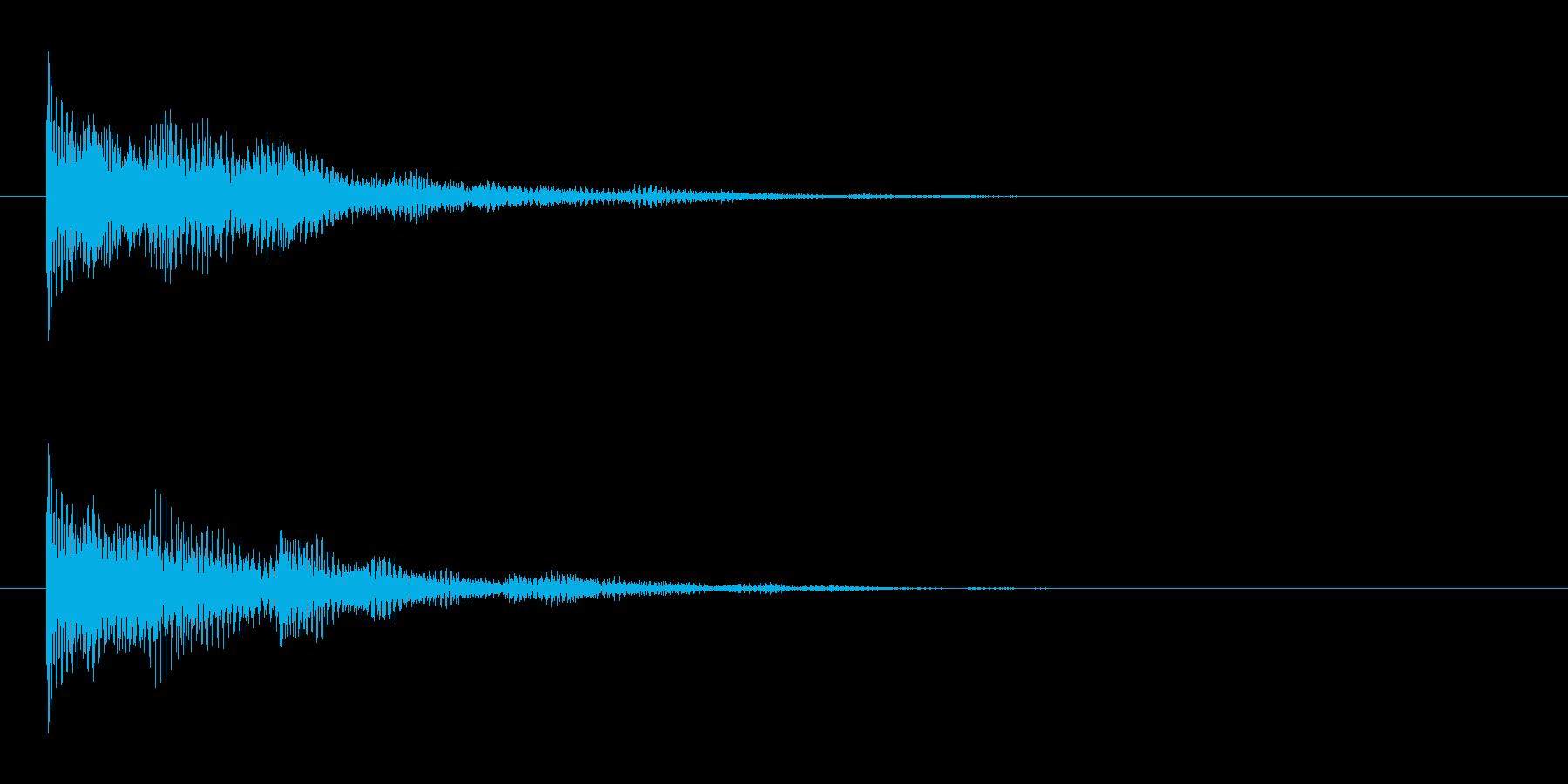 SF 演出 33の再生済みの波形